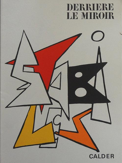Calder - Cover - Original lithograph