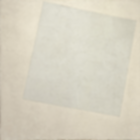 Kasimir Malevich, White in White, 1918