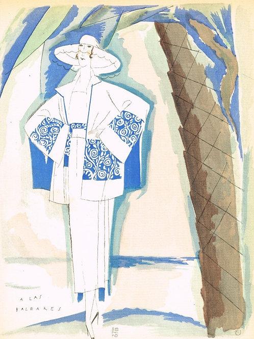 Gazette Du Bon Ton 1921 No 6 Pochoir