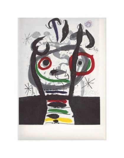 Joan Miro - Reproduction