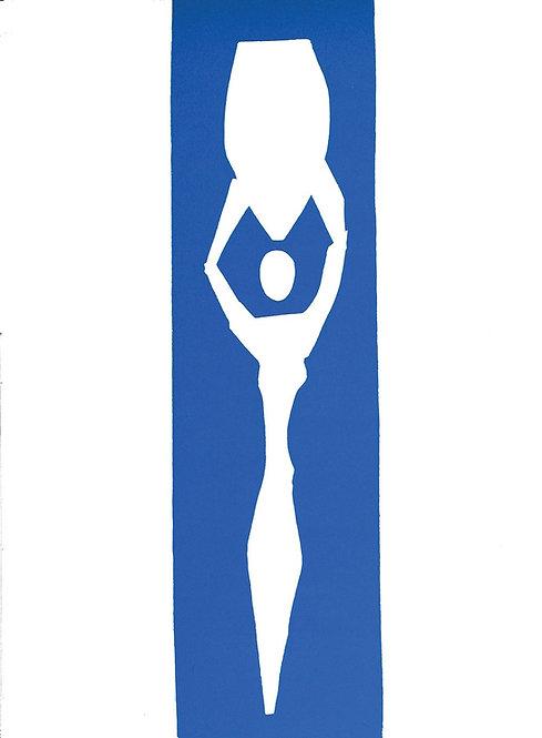 Matisse -  Lithograph - Nu Bleu XII