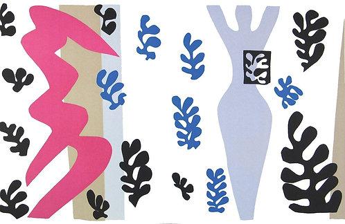 Matisse -  Le Lanceur de Couteau 1983 reproduction