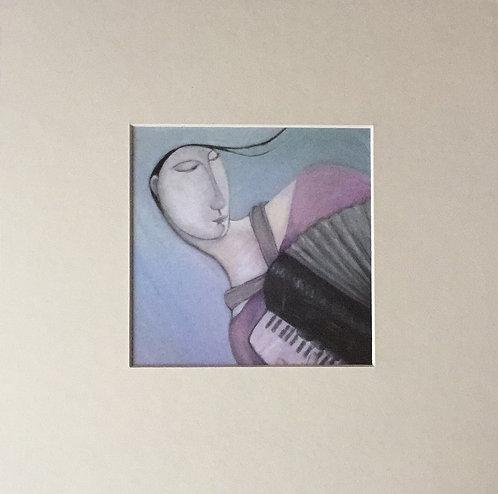 Joanna Powell, premounted card 1