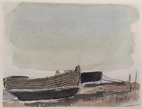 Sir Hugh Casson, Beached Fishing Boats