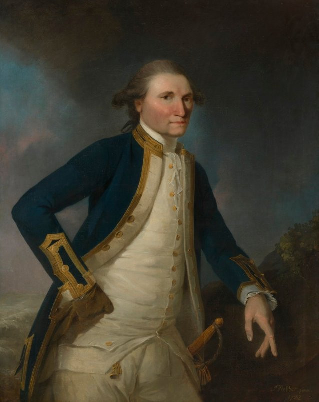 John Webber, Captain James Cook RN, 1782, National Portrait Gallery
