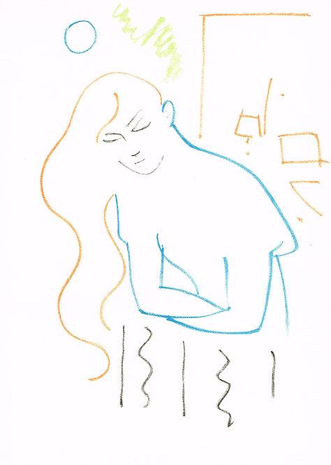 Jean Cocteau, Original Lithograph, Romeo et Juliette II