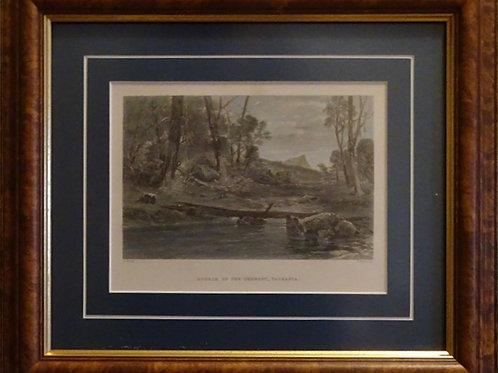 T Heawood, Source of the Derwent, Tasmania