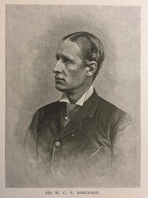 Sir W. C. F Robinson