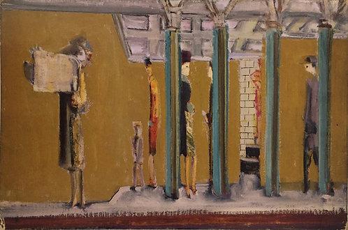 Mark Rothko, Untitled (subway) c1937