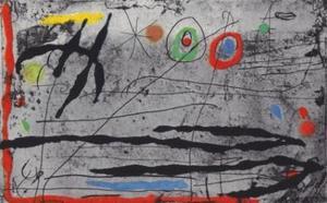 Joan Miro, Drawn on a Wall I