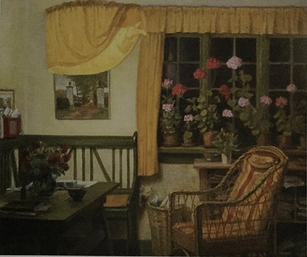 Artist Unknown, A Peaceful Interior