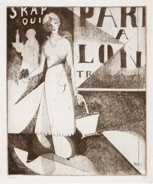 J E Laboureur, Le Marchande de Violettes