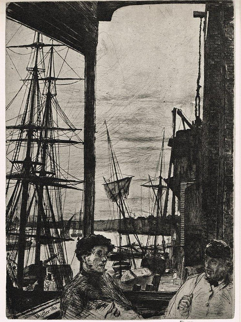 James McNeill Whistler, Rotherhithe