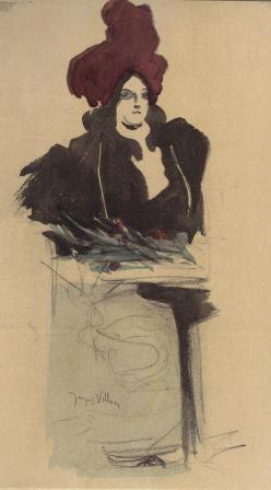 Jacques Villon, La Femme Chic