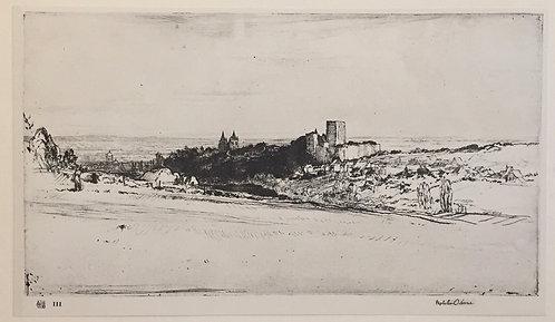 Malcolm Osborne, Loches Castle