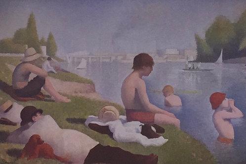 Georges Seurat, Bathers as Asnieres