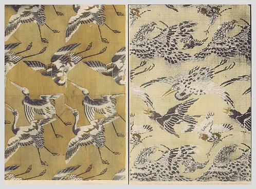 Panneaux a decor dechassiers, oiseaux de proie