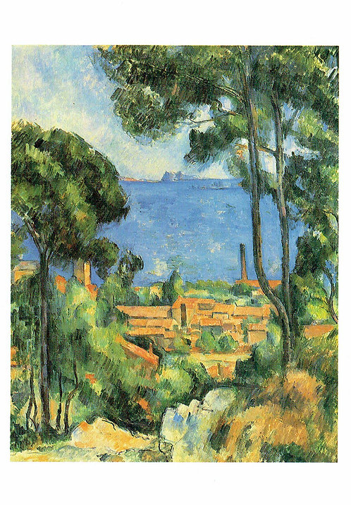 Marc Chagall, View of L'Estaque and the Chateau d'If