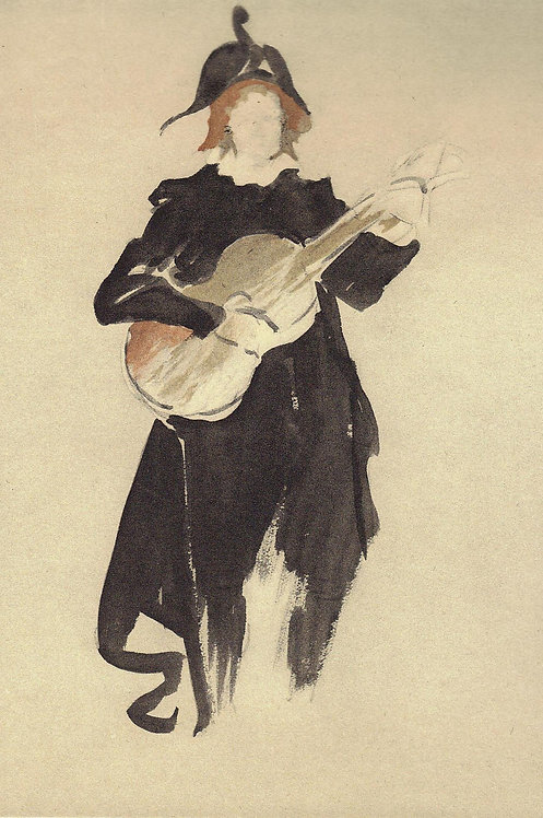 Jacques Villon, Au cafe-concert