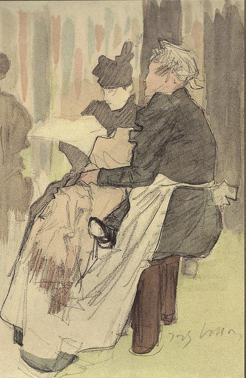 Jacques Villon, A Damville, Yvonne Duchamp
