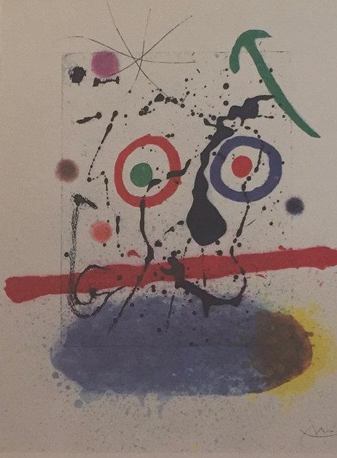 Joan Miro, The Pit Sawyer