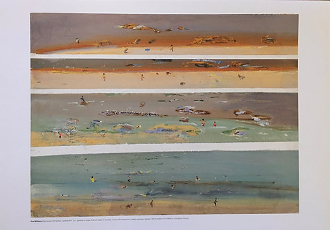 Fred Williams, Beachscape with Bathers, Queenscliff IV