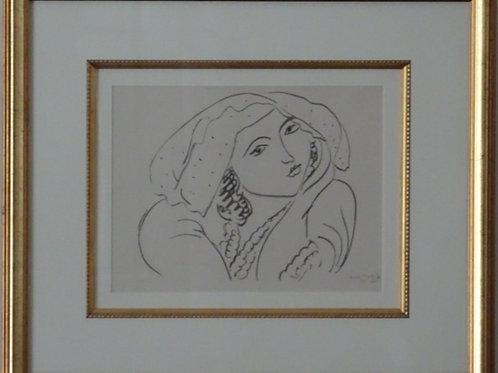 Henri Matisse, lithograph