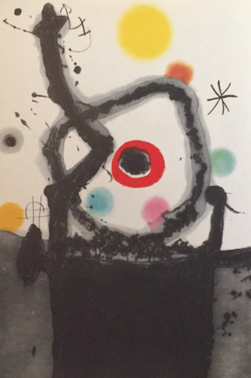 Joan Miro, The Rebel