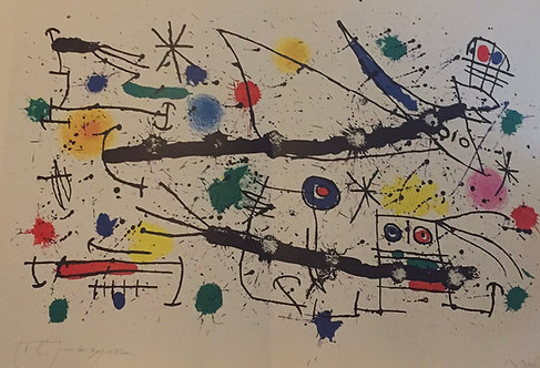 Joan Miro, The Big Garden