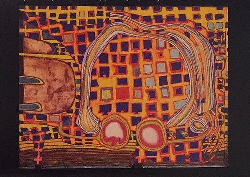 Hundertwasser, The Melting Glasses of Alain Jouffroy