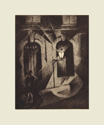 CRW Nevinson, Sinister Paris Night
