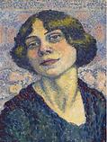 Lucie Cousturier, Self Portrait, c1905-1