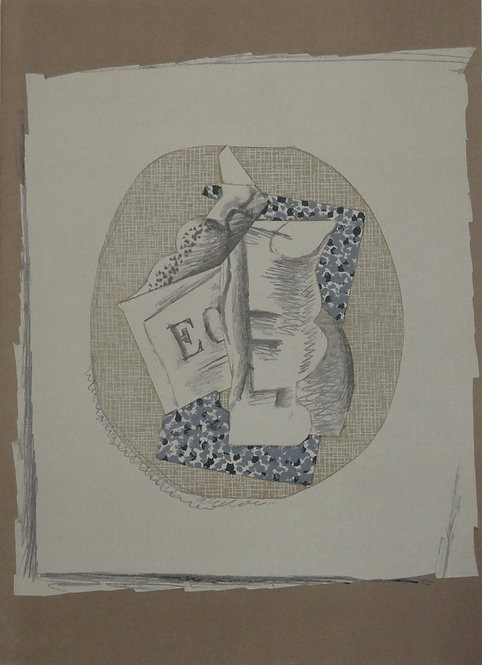 Georges Braque - original lithograph, DLM