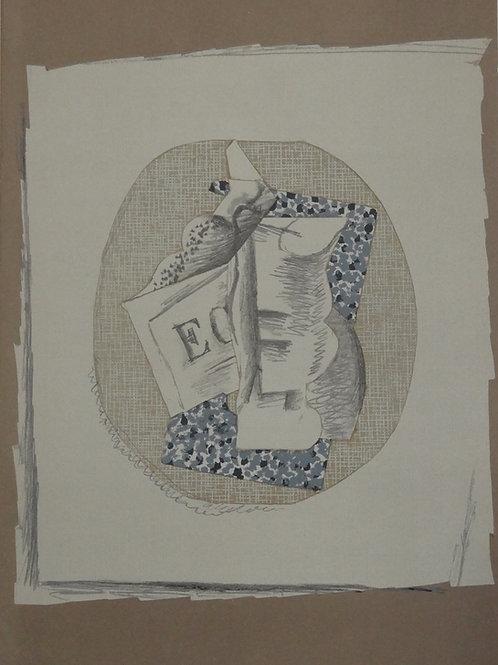 Georges Braque - original lithograph, DLM