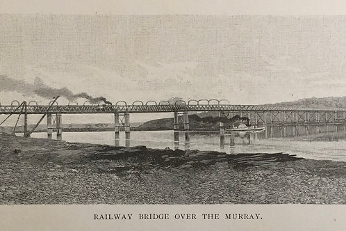 Railway Bridge over the Murray