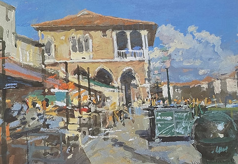 Ken Howard, la Peschia, Venice 1996