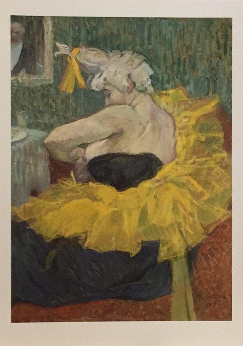 Henri  de Tourlouse - Lautrec, The Clown