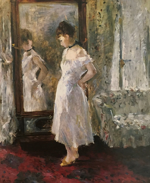 Berthe Morisot, The Mirror, 1876