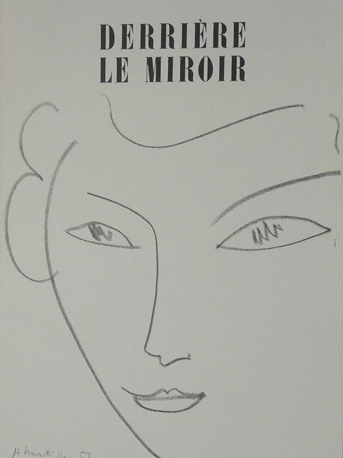 Matisse -  Lithograph - DLM Cover
