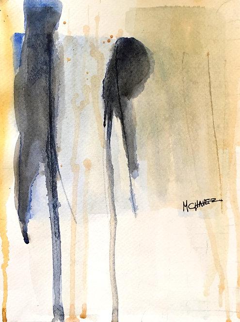 Mercedes Chavez French Watercolour 1