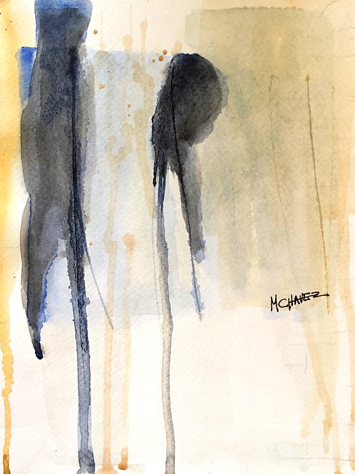 Mercedes Chavez French Watercolour 1