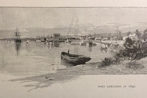 Port Adelaide in 1840