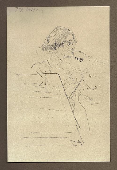 Jacques Villon, Un Violoniste