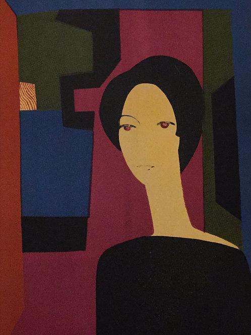 Andre Minaux, Sicilienne, Original Lithograph