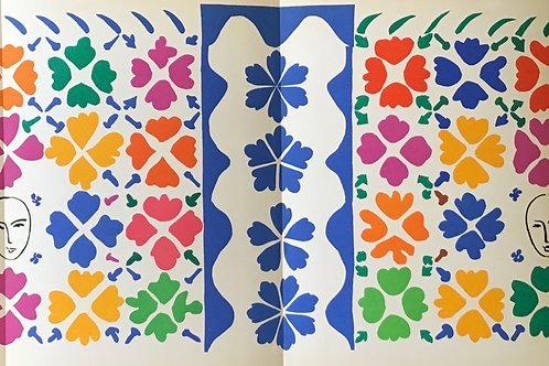 Matisse -  Lithograph - Decoration Masques