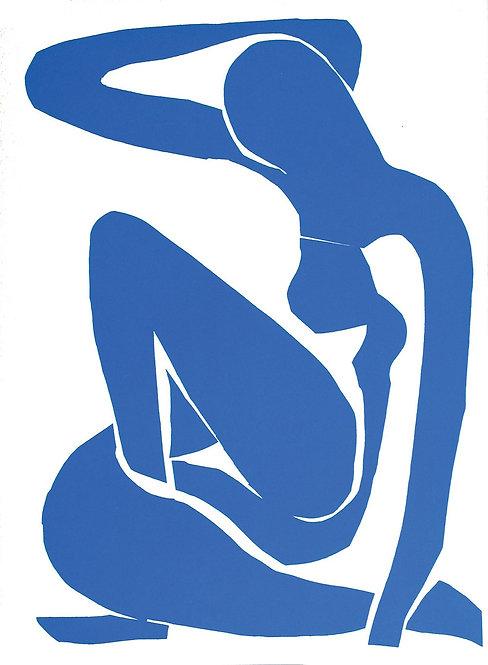 Matisse -  Lithograph - Nu Bleu I, Verve