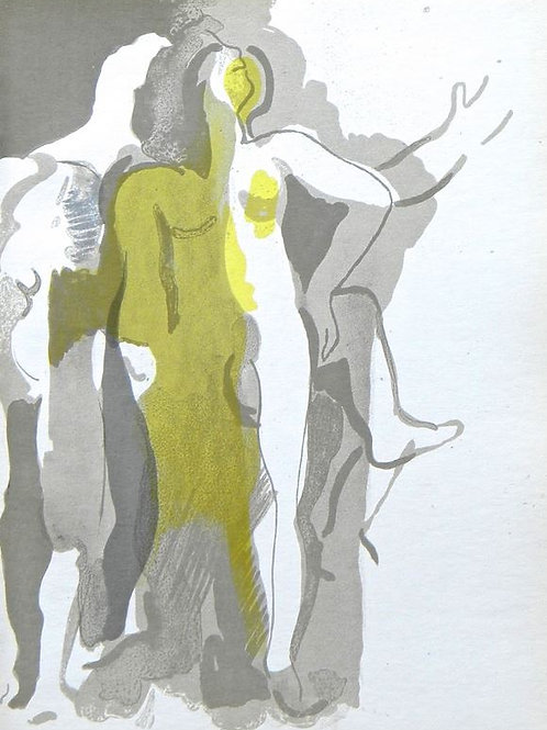 Andre Beaudin Original Lithograph Plate 2