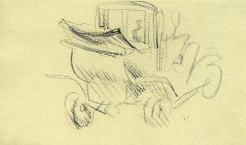 Jacques Villon, Automobile