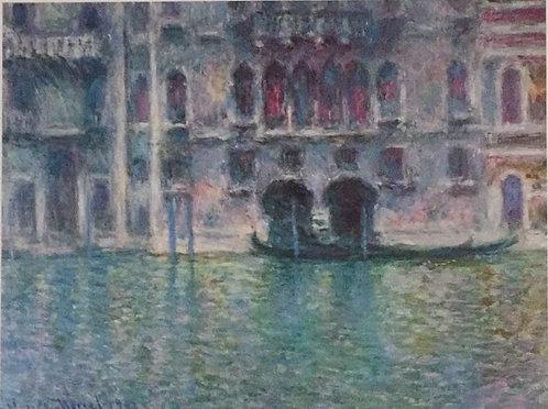 Claude Monet, Venise Palazzo De Mula 50x60cm