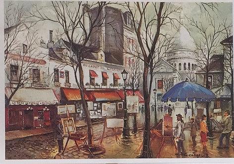 Georges B., Olace du Terte, Montmartre